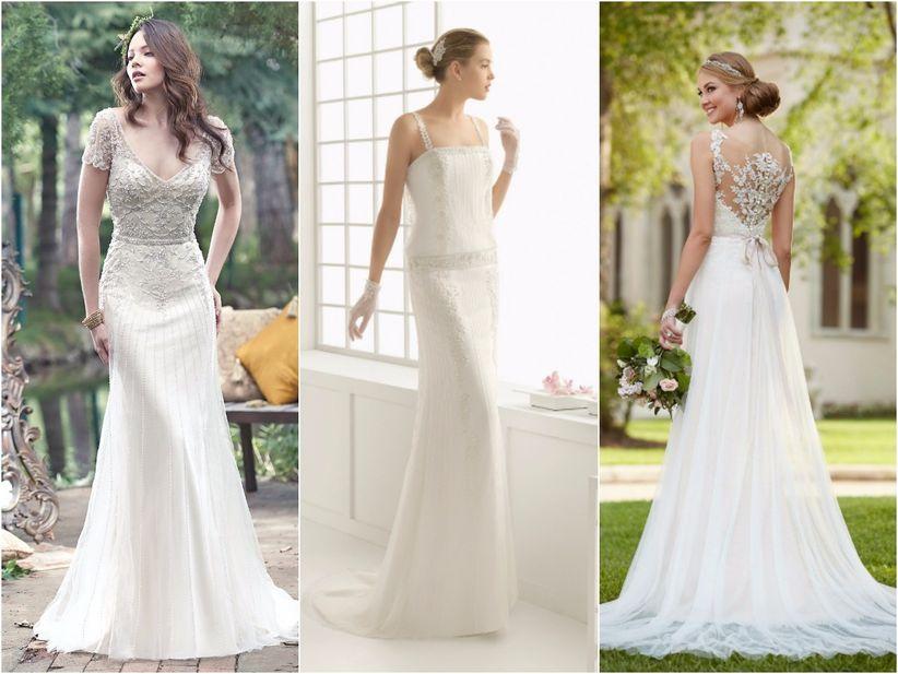 vestidos de novia para boda vintage