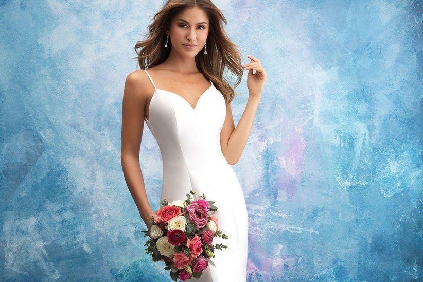 a8fbf86758 Vestidos de novia Allure Bridals 2019  diseños únicos para el día ...