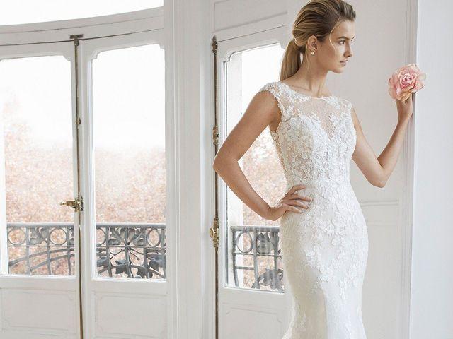 Vestidos de novia con escote barco 2019: estiliza tu figura y luce muy elegante