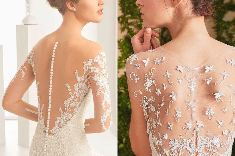 20 vestidos de novia 2017 con tattoo lace que te enamorarán