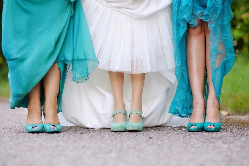 20 irresistibles zapatos para damas de honor