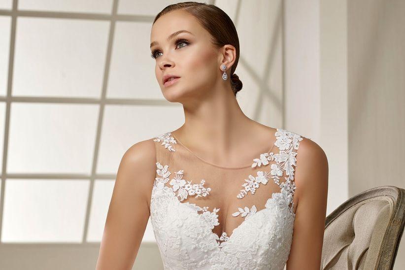 vestidos de novia divina sposa 2019: toques de alta costura que