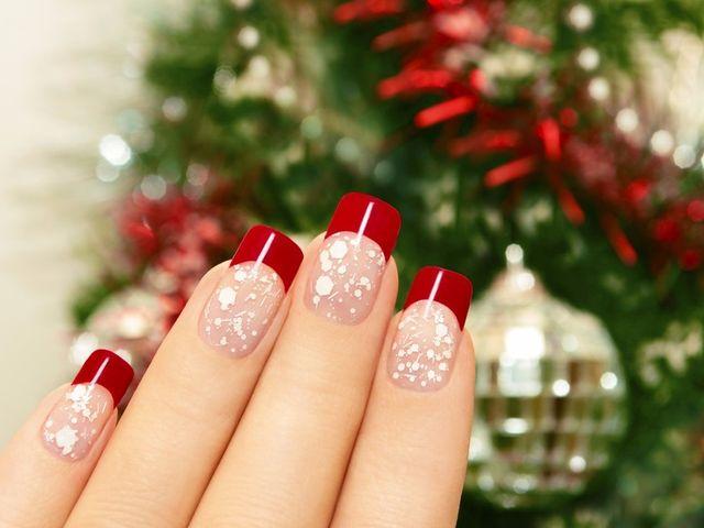 15 ideas para tu manicura inspirada en la navidad