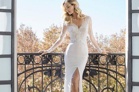 Sensualidad a flor de piel: descubre los vestidos de novia más sexys