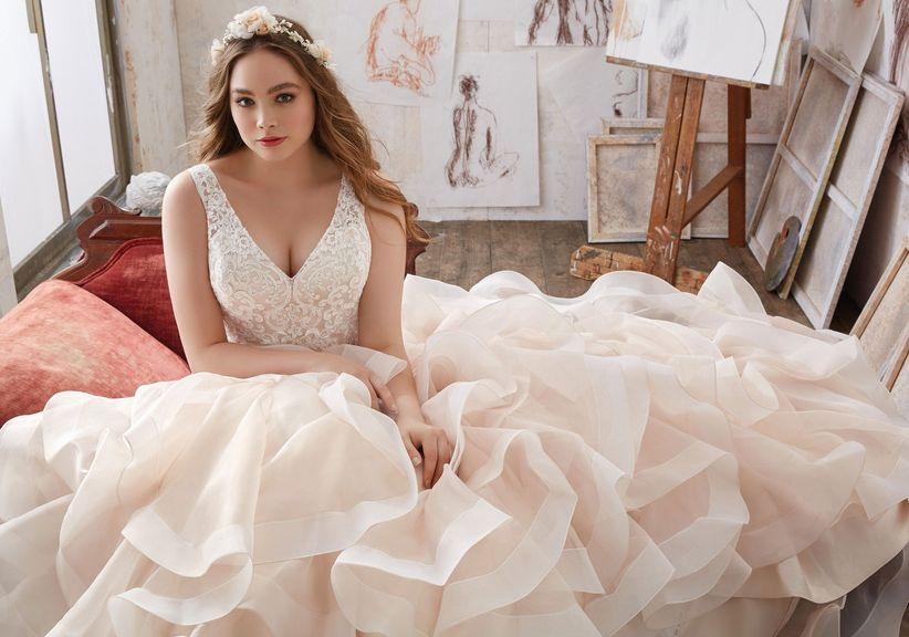 60 vestidos de novia para gorditas ¡luce espectacular en tu gran día!