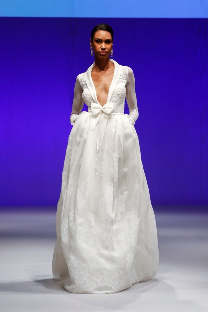 Tendencias en vestidos de novia 2017 desde Israel en la pasarela del ...