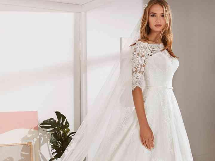 Tendencia 2019 En Vestidos De Novia Corte A 50 Diseños