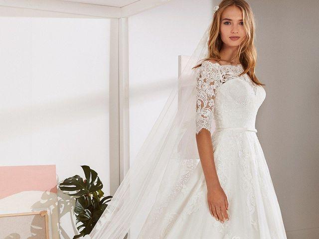 Tendencia 2019 en vestidos de novia corte A: 50 diseños románticos