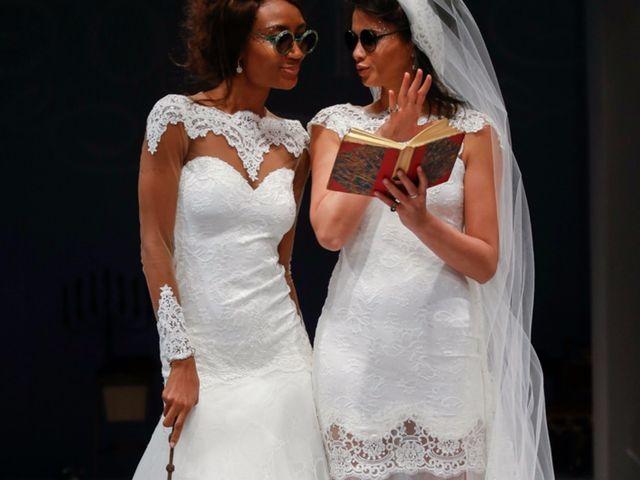 Las novias brujas de Olvi's en el NYIBW