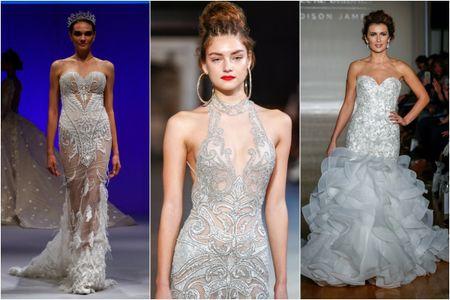 55 vestidos joya de la New York International Bridal Week que te asombrar�n