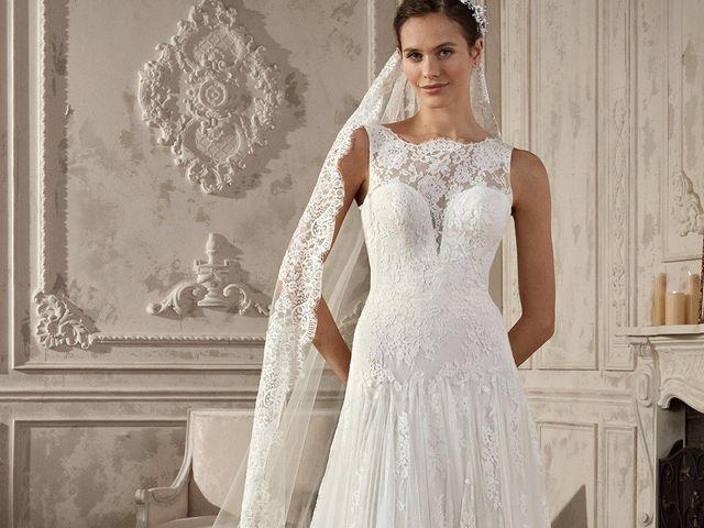 Vestidos de novia corte evasé 2019: el diseño sofisticado que todas buscan