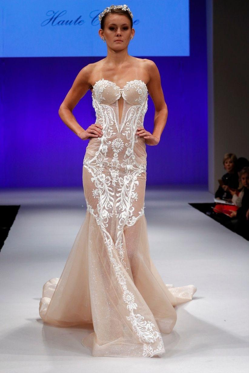 40 vestidos de novia con toques de color que brillaron en el NYIBW