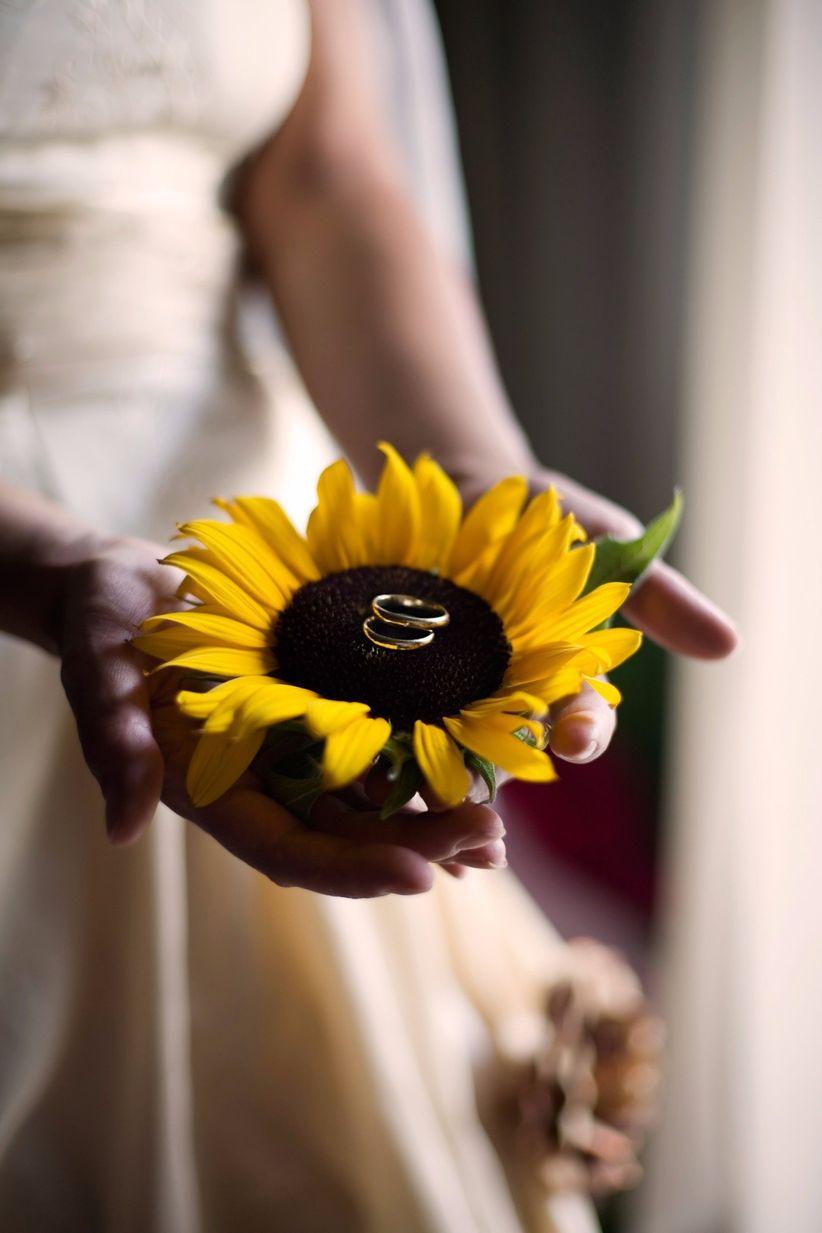 Parte Matrimonio Rustico : Ideas para decorar tu matrimonio con girasoles