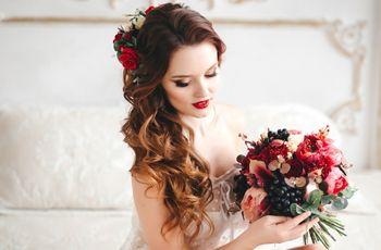 50 peinados de novia con cabello suelto: estilo y libertad en tu gran día