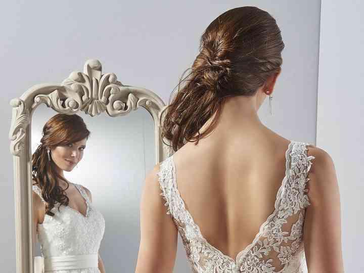 Peinados de novia para gorditas