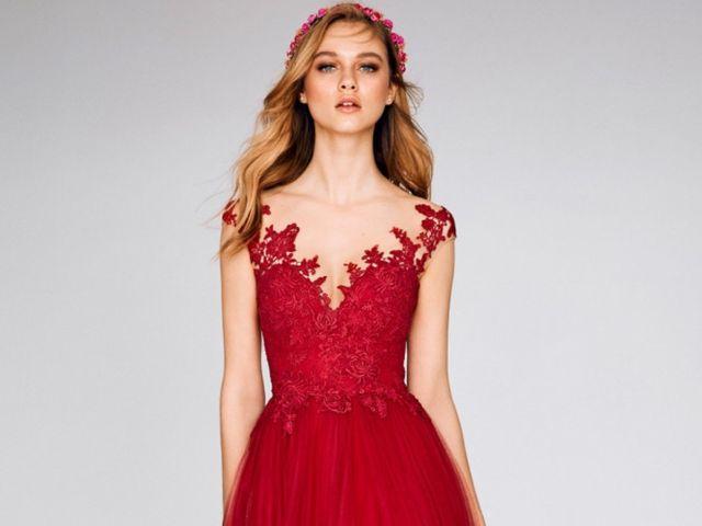 33 vestidos de fiesta rojos 2019: ¿te atreves?
