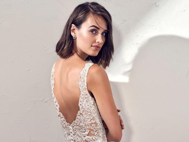 40 vestidos de novia: los escotes de espalda más sexys