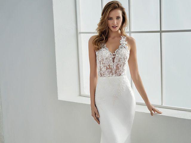Vestido de novia White One 2018: romanticismo y naturalidad