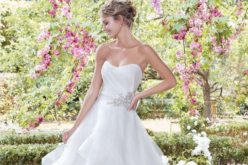 40 vestidos de novia con escote corazón