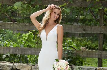 Descubre los más bellos vestidos de novia atemporales ¡conseguirás un look nupcial que jamás pase de moda!
