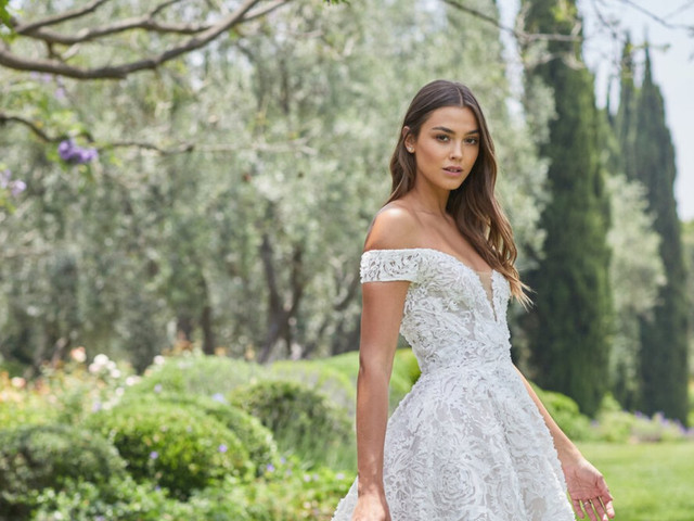 101 (espectaculares) vestidos de novia 2021 para un matrimonio de día