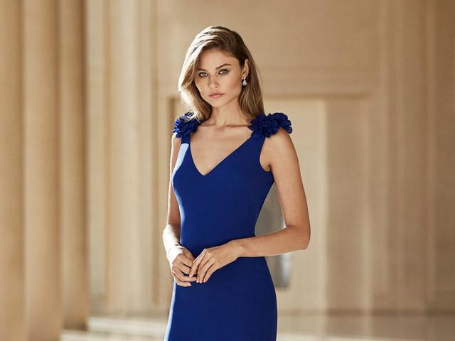 Vestidos de fiesta 2020 en azul ¡jamás pasarás desapercibida!