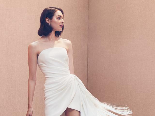 Vestidos de novia cortos: diseños 2020 para el outfit bridal más logrado