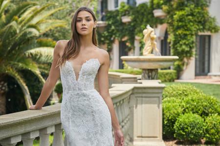 Vestidos de novia Monique Lhuillier 2021: descubre su exquisito universo bridal