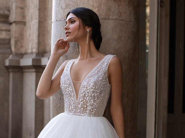 Look de novia efecto glitter: brilla y deslumbra con tu atuendo bridal