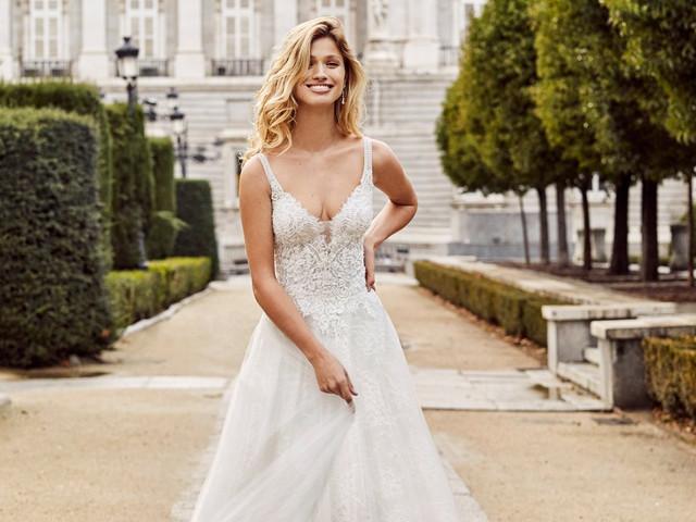55 increíbles vestidos de novia Aire Barcelona 2020 ¡encuentra el tuyo!