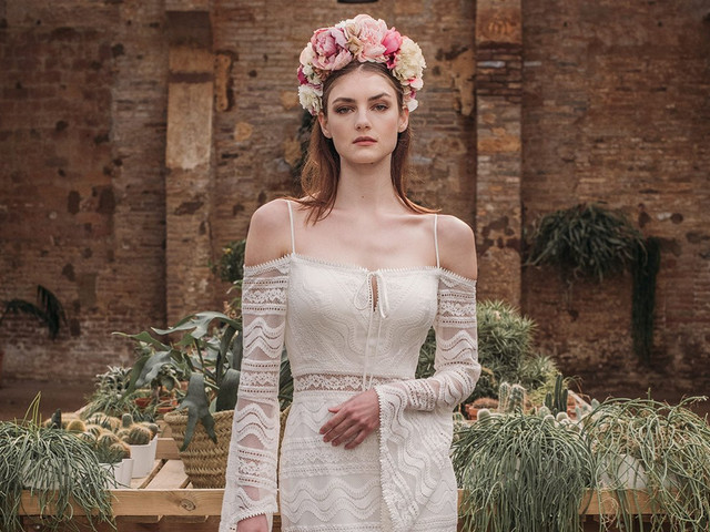 Vestidos de novia Fara Sposa 2021: feminidad y encanto