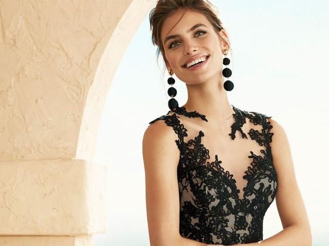 45 vestidos de fiesta en negro: el look de invitada ideal