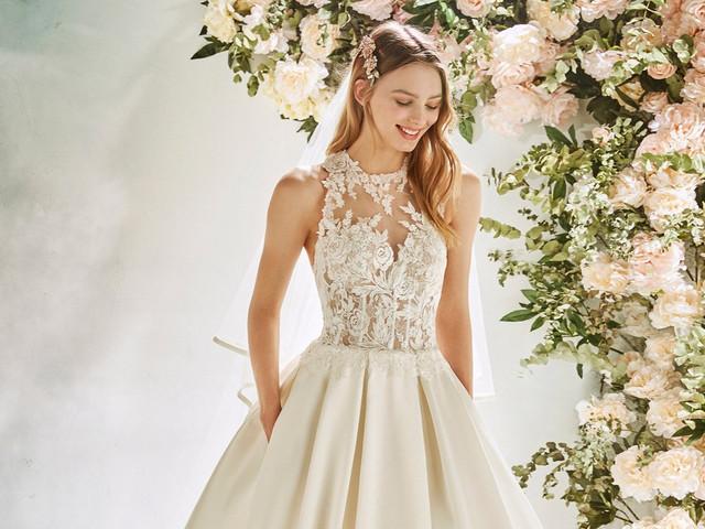 50 vestidos de novia con volumen 2020: ¡para un ingreso triunfal de princesa!