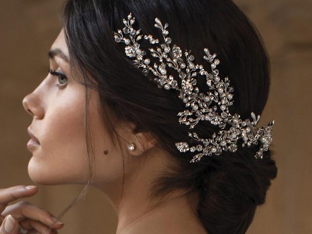 Lo último en tocados de novia ¡diseños exquisitos para un look de ensueño!