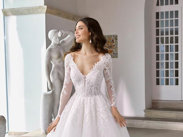 ¡Estilo que enamora! Estos son los vestidos de novia 2022 que más gustan a nuestras novias