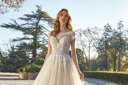 Vestidos de novia escote ilusión 2021: ¡descubre las mejores tendencias!