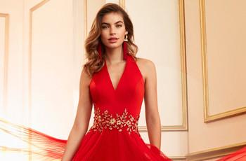 Vestidos rojos de fiesta, enamórate de los diseños que son tendencia este 2021