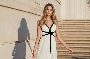 Vestidos de fiesta para embarazadas: 40 modelos protagónicos 2020