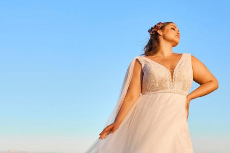 Enamórate de los (más bellos) vestidos para gorditas ¡60 diseños para novias que triunfarán en el altar!