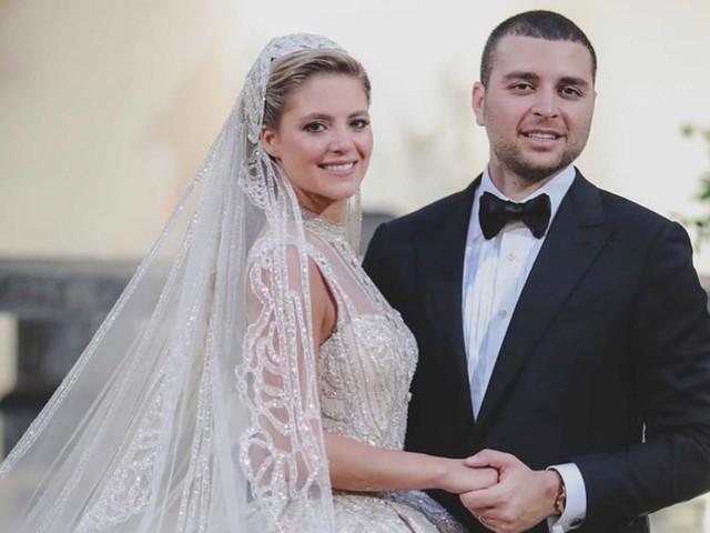 La fastuosa boda de Elie Saab Jr. y Christina Mourad
