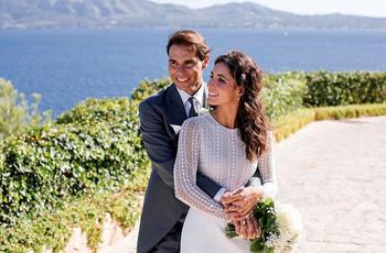 El matrimonio de Rafael Nadal y Mery Perelló