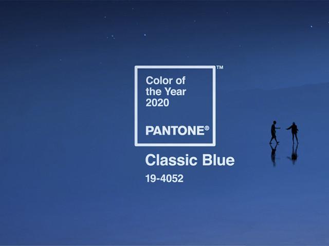 El color del año 2020: Classic Blue, el azul intemporal para bodas modernas
