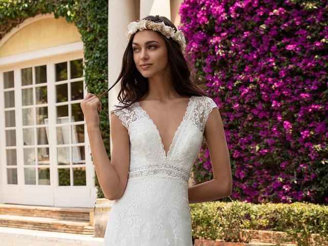 Look bridal para novias de baja estatura: 16 claves para alargar tu figura