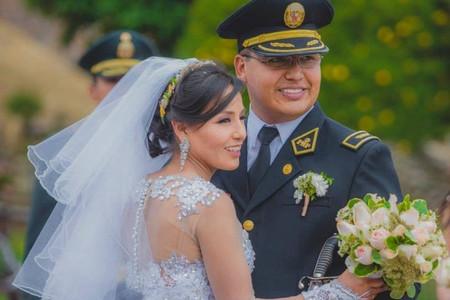La atleta peruana Inés Melchor se casó en Huancayo
