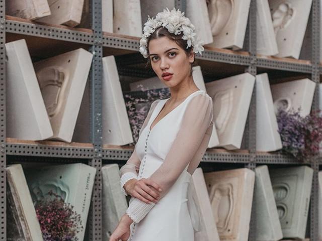 Vestidos de novia Cherubina 2021: belleza de porcelana