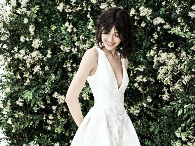 Vestidos de novia Carolina Herrera 2020: elegancia y movimiento para la novia moderna