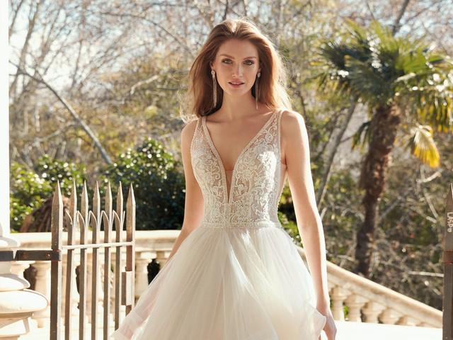 Fara Sposa 2020: 25 vestidos vaporosos, de encajes y bordados para la novia romántica