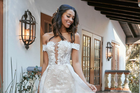 Lo último en moda nupcial revelado en el Virtual Show de The Knot Couture 2021 ¡imperdible!