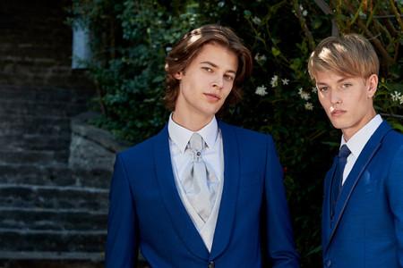 Este es el color más versátil y acertado para los ternos de novio: ¡Azul en todas sus formas!