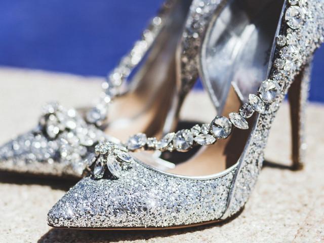 Zapatos joya: La tendencia 2020 perfecta para tu matrimonio